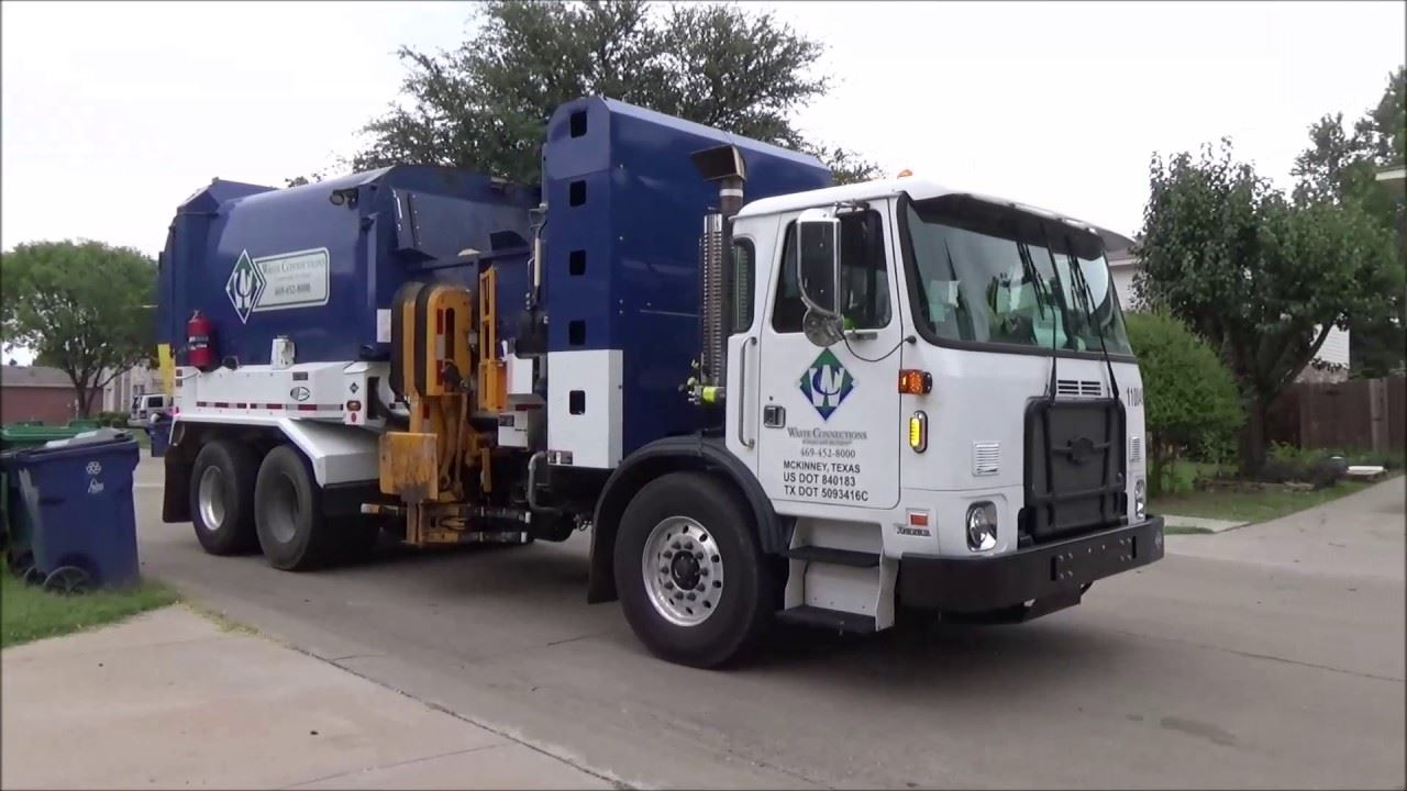 Waste Connections Truck